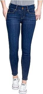 Tummyless Mid Rise Skinny Jean (8, Alias)
