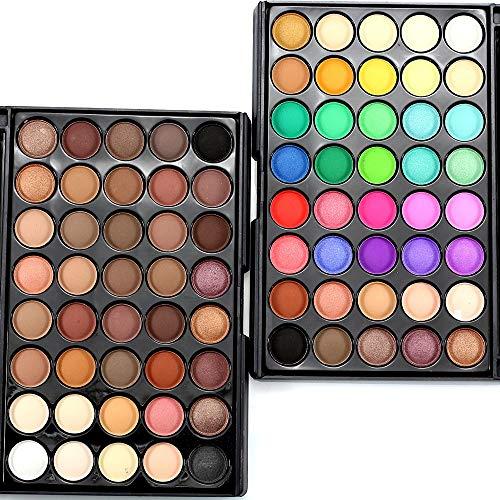 treseds 40 Farben lidschatten Palette Make-up-Set Kosmetik Glitter nackte Mode Korea lidschatten pallete für Frauen (Color : 3)