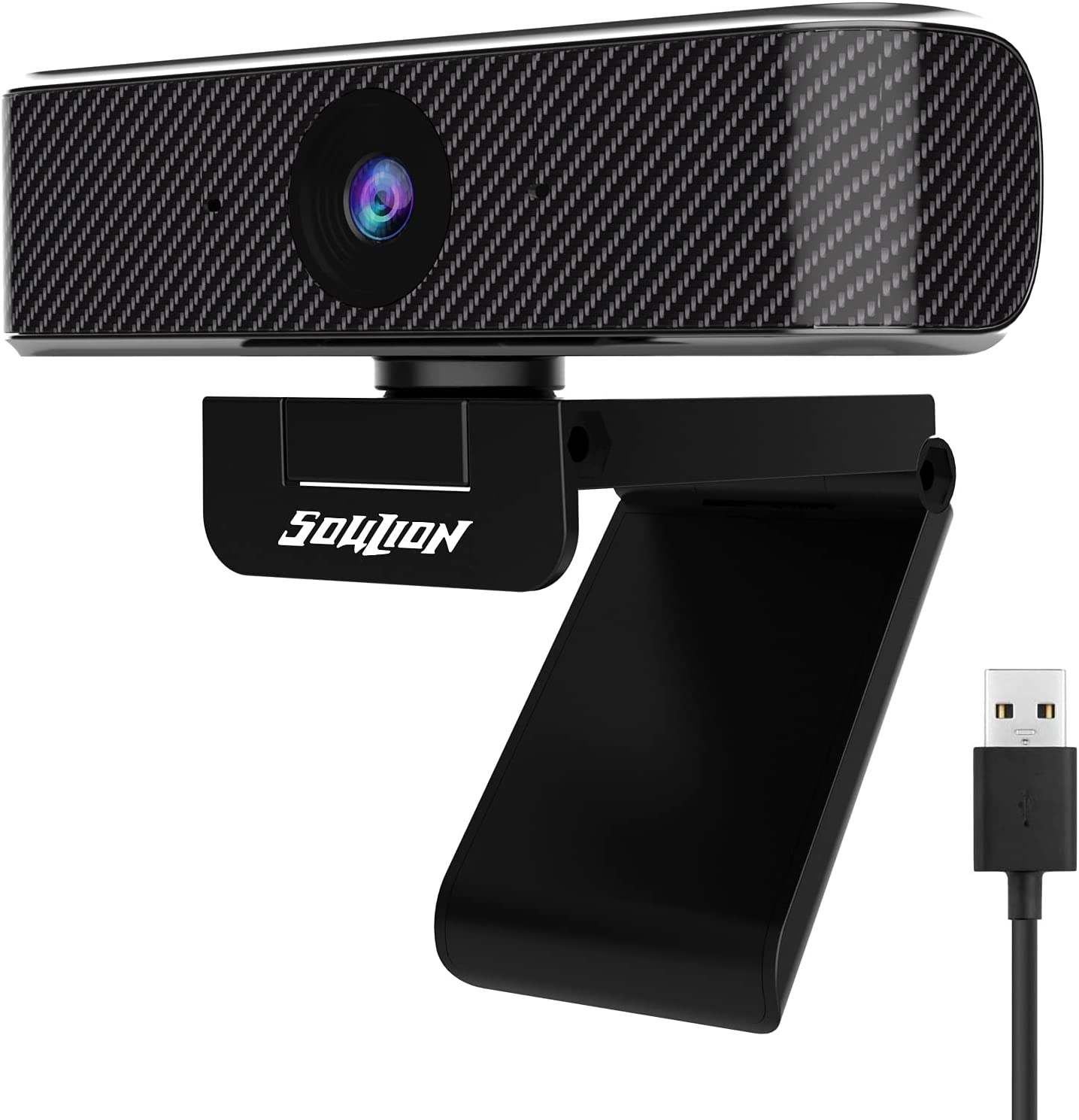 Soulion C20 Ranking TOP4 Webcam with Microphone Camera Max 63% OFF 1080p HD Full
