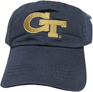 4c0aed088a56a Rob sTees Georgia Tech University Yellow Jackets GT Polo Style College Team  Strap Back Dad