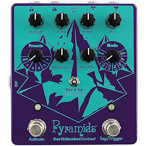 EarthQuaker Devices Pyramids フランジャー エフェクター