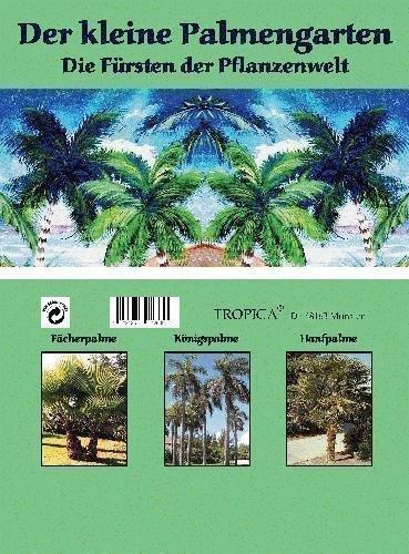 Mini-Gewchshaus - Der kleine Palmengarten - mit Samen der Fcherpalme, Knigspalme und Hanfpalme