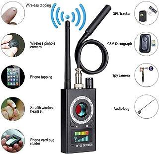 TANCEQI Amplificación Detector de señal RF Bug inalámbrico de frecuencia escaneo GPS Tracker Finder