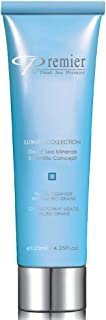Premier Dead Sea Classic Luxury Facial Cleanser with Micro Grains, daily use, gentle on skin, non drying, moisture rich, Dermatologist Tested anti aging Skin Care, 4.2fl oz