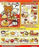 Re-Ment Miniature Sanrio Rilakkuma Breakfast Eggs Kitchen Full Set 8 Packs
