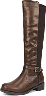 Women's Side Zipper Fashion Knee High Riding Boots
