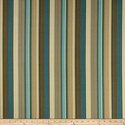 Waverly Sun N Shade Draw the Line Spa Outdoor, Fabric by the Yard