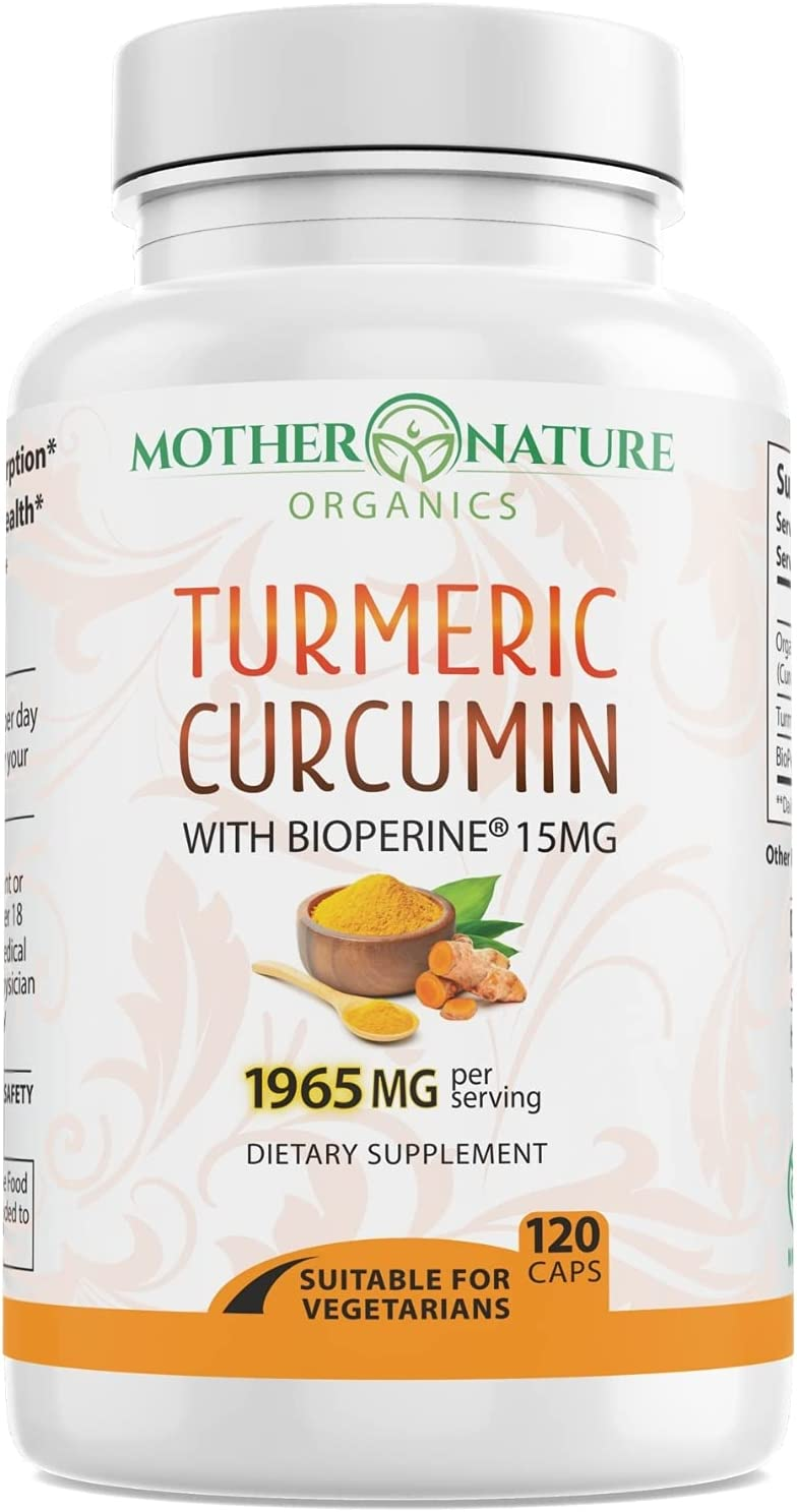 Turmeric Curcumin with Courier shipping Super Special SALE held free BioPerine Availab Highest Potency 1965mg.