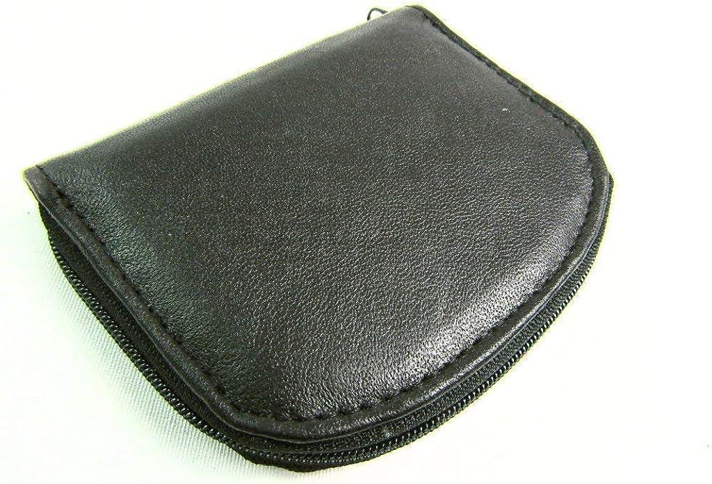 The Leather Emporium Men's Coin Purse Pouch Wallet Zip Around