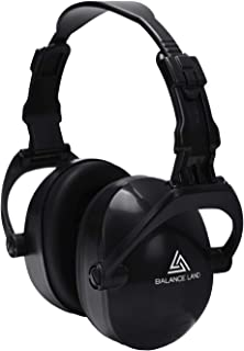 Balanceland 防音 イヤーマフ 騒音 対策 聴覚過敏 遮音値34dB ANSI S3.19&CE EN352-1認証済み 折り畳み式 超弾力性 子供 キッズ 大人 勉強 仕事 睡眠 イビキ対策 工場 自閉症 等様々な用途に