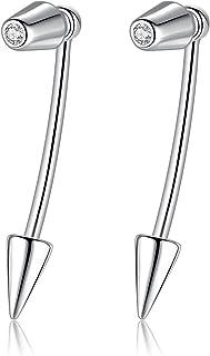 Gemshadow unisex in argento Sterling 925con zirconi cubici 4in 1
