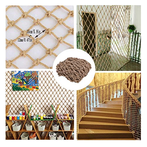 Great Price! Baby Safety Outdoor Railing Net Protective Mesh Hemp Rope Grid Decoration Net Ceiling S...