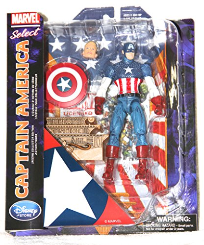MARVEL SELECT Disney Store Special Collector Edition: CAPTAIN AMERICA Avengers RARE