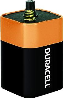Duracell – Bateria alcalina CopperTop 6V 908 com terminais de mola – longa duração, bateria de 6 volts para uso doméstico ...