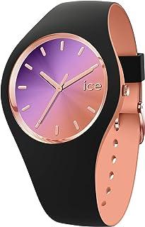 ICE duo chic Black purple - Women's wristwatch with silicon strap - 016982 (Medium)