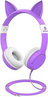 Casque Audio Enfant, iClever, Écouteurs Enfants Anti-Bruit Limiteur Volume avec..