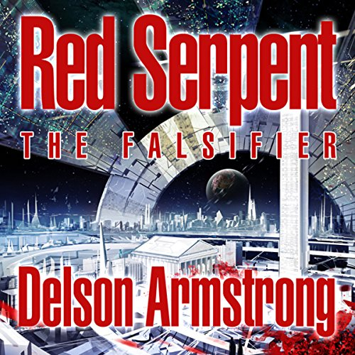 Red Serpent: The Falsifier audiobook cover art