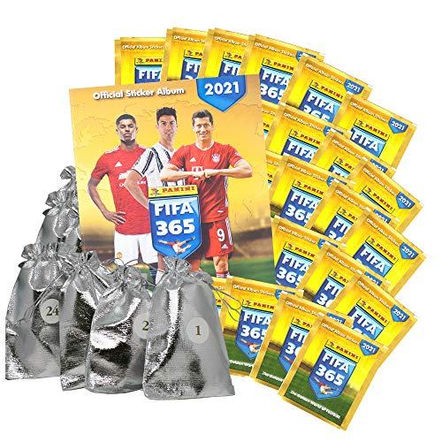 2021 F.IFA 365 Sticker-Adventskalender - 24 Ãœberraschungen
