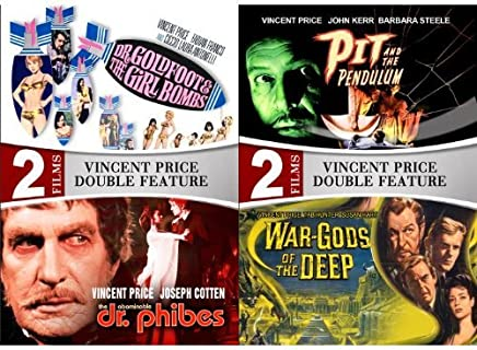 Vincent Price: 4 Movie Collection Includes War Gods of the Deep & The Abominable Dr. Phibes
