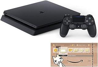 PlayStation 4 ジェット・ブラック 500GB (CUH-2200AB01) 【Amazon.co.jp限定】オリジナルカスタムテーマ (配信)