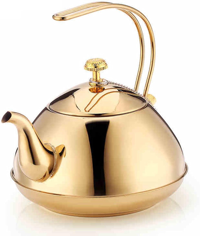 A la venta con descuento del 70%. ZSSKY Cocina De Inducción De La Cocina del Té Té Té Tetera De Acero Inoxidable Universal Tetera Resistente Al Calor Filtro De La Tetera Lavable Tetera  precio mas barato