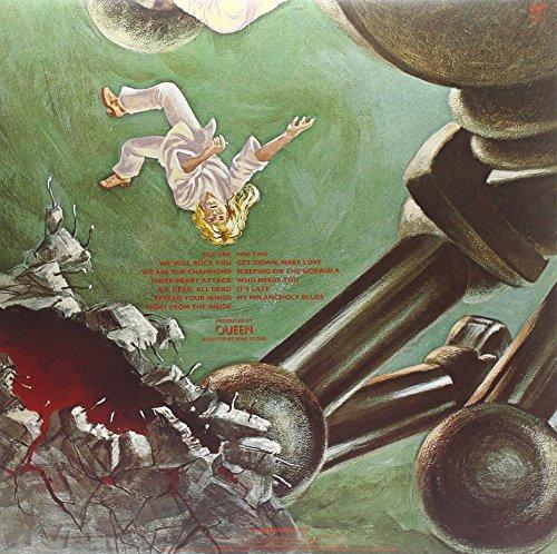 Queen – News of the World (Limited Black Vinyl) [Vinyl LP] - 2