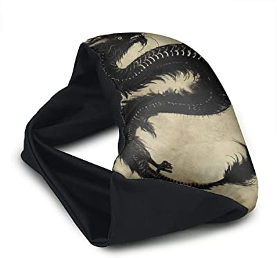 Voyage Travel Pillow Eye Mask 2 in 1 Portable Neck Support Scarf Dragons Ergonomic Naps Rest Pillows Sleeper Versatile for Airplanes Car Train Bus Home Office