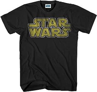 Men's Classic Vintage Simple Logo T-Shirt