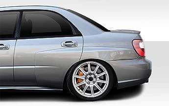 Extreme Dimensions Duraflex Replacement for 2002-2007 Subaru Impreza WRX STI 4DR WRC Wide Body 50MM Rear Fender Flares - 5 Piece