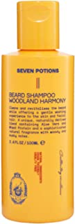 Beard Shampoo for Men 100 ml Natural, Organic, Vegan. Make Your Beard Softer And Cleaner With The Best Beard Wash. Conditi...