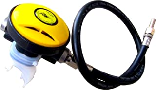 REAMTOP Scuba Diving Equipment- Second Stage Regulator Octopus Hookah with Mouthpiece