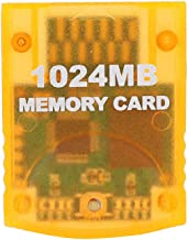 $29 » OhhGo Memory Card, for WII Gamecube Game Console 1024MB Large Capacity Memory Card Game Accessories