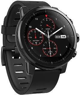 (Renewed) Amazfit Stratos A1619 Multisport Smartwatch (Black)