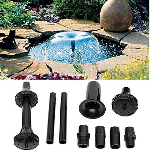 King Do Way Brunnen Düsen-Set, Garten, Fontäne,Teich, für Wasserfälle, Wasserspiel, Large