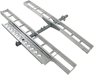 Double Motorcycle or Dirt Bike Carrier 600 lb Capacity Aluminum 75
