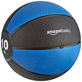 AmazonBasics Workout Fitness Exercise Weighted Medicine Ball - 10...