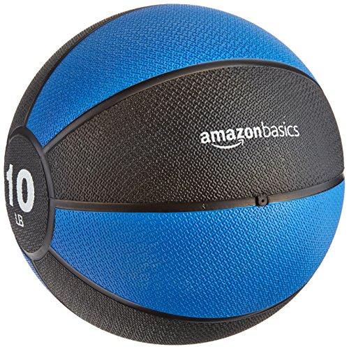 AmazonBasics Medicine Ball, 10-Pounds