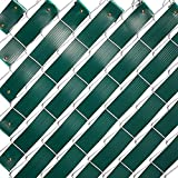 Juvale Chain Link Fence Slats, Privacy Tape with...