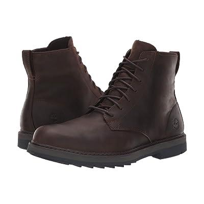 Timberland Squall Canyon Plain Toe Waterproof Boot (Dark Brown Full Grain) Men