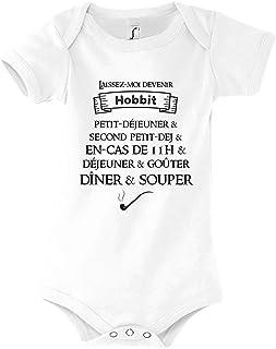 Collection Humour Mignon r/éf/érence Seigneur des Anneaux Body b/éb/é D/éjeuner Hobbit