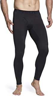 TSLA Men's (Pack of 1, 2) Thermal Compression Pants, Athletic Sports Leggings & Running Tights, Wintergear Base Layer Bottoms
