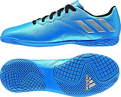 adidas Messi 16.4 IN J - Botas de fútbol Línea Messi para niños, Azul - (Azul/FTWBLA/Narsol), -33
