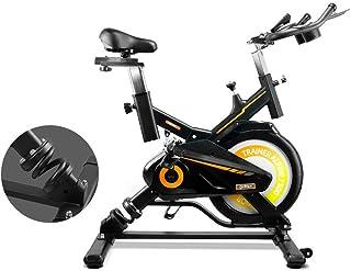 gridinlux. Trainer Alpine 7500. Bicicleta Spinning Pro Indoor. Volante de Inercia 15 kg, Nivel Avanz