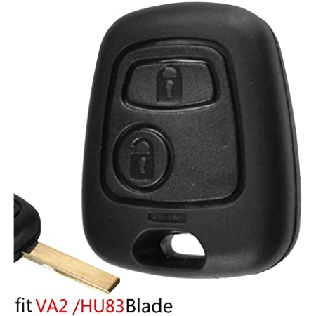 Autoschlüssel Gehäuse Für Peugeot 307 107 207 407 Für Citroen C1 C2 C3 C4 C5 Xsara Picasso Fob Gehäuse Schlüssel Reparatur Kit Va2 Hu83 Blade Auto