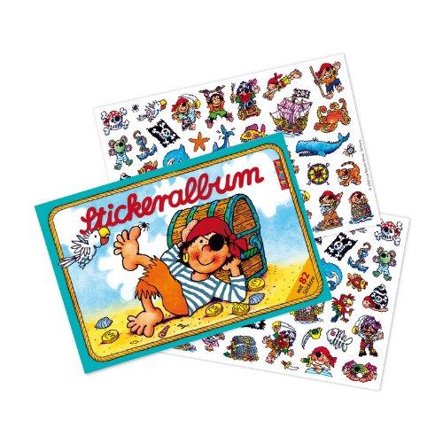 Mauder Lutz 72004Aufkleber Buch gefüllt mit über 80Aufkleber Piraten Pirat Kinder Aufkleber: Aufkleber Buch