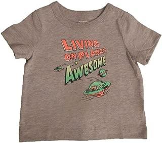 OshKosh B'Gosh Boy's Living On Planet Awesome Tee