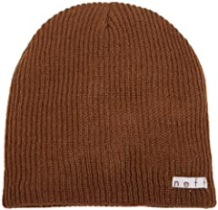 Ribbed-knit Daily beanie hat featuring Neff logo patch Our top selling Daily beanies are warm, comfortable, stylish and fun Available in a wide assortment of colors Ultra soft beanie keeps your head feeling cozy with enough breathability for warmer d...