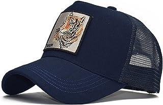 أزياء للجنسين عادي منحني الشمس قناع قبعة قبعة بلون الأزياء قابل للتعديل قبعة بيسبول الهيب هوب قبعة كاب الشمس (Color : B)