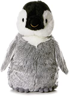 Flopsies – Pingüino de Peluche, 31 cm, Color Gris, Blanco y Negro (Aurora World 13232)