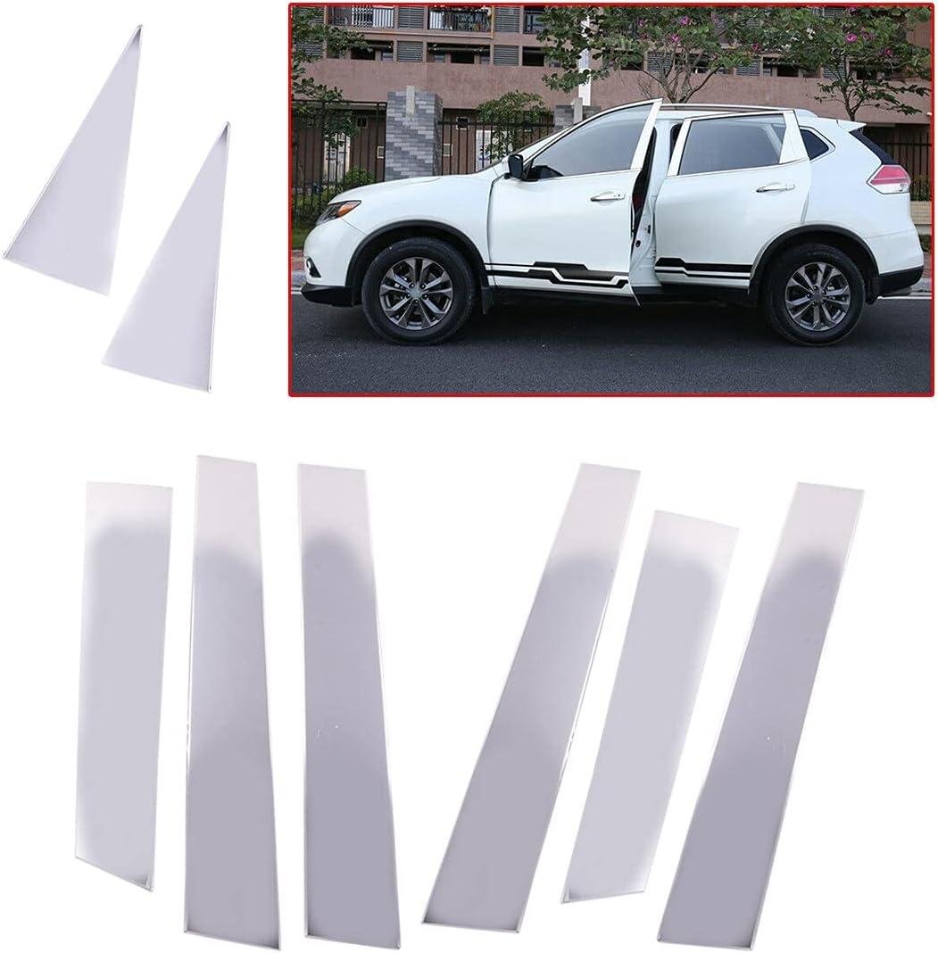 Lender Regular discount 8Pcs Set Chrome Car Auto Door Recommended Trim Cover Pillar Fit Post